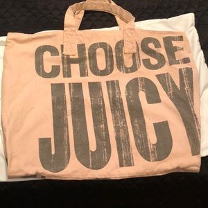 Juicy Couture huge tote bag